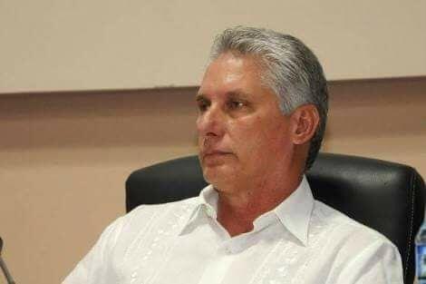 Il presidente cubano Miguel Diaz Canel