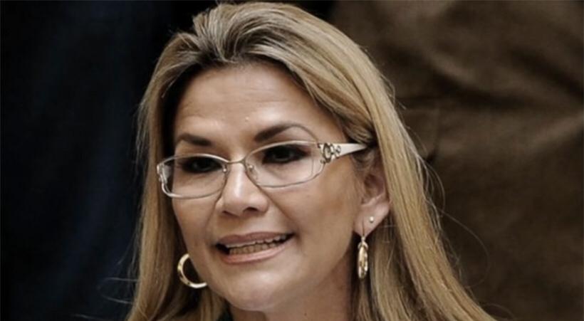 LA EX PRESIDENTE DE FACTO DELLA BOLIVIA JEANINE ANEZ