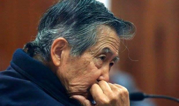 L'ex presidente del Perù Alberto Fujimori