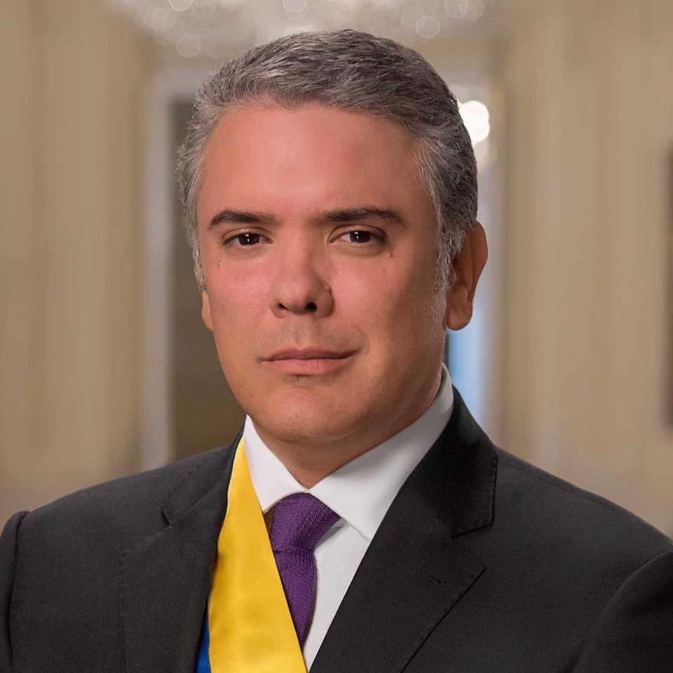 Il presidente della Colombia Ivan Duque