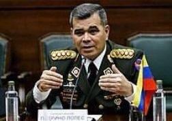 Il Ministro della Difesa Vladimir Padrino Lopez