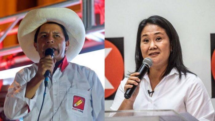 Castillo e Fujimori si scontreranno al ballottaggio