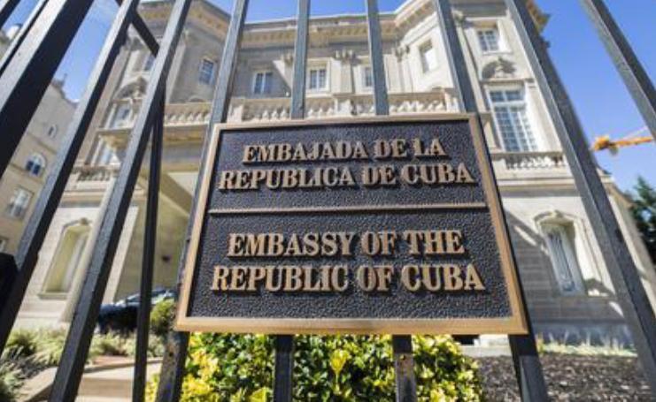 L'ambasciata di Cuba negli Stati Uniti