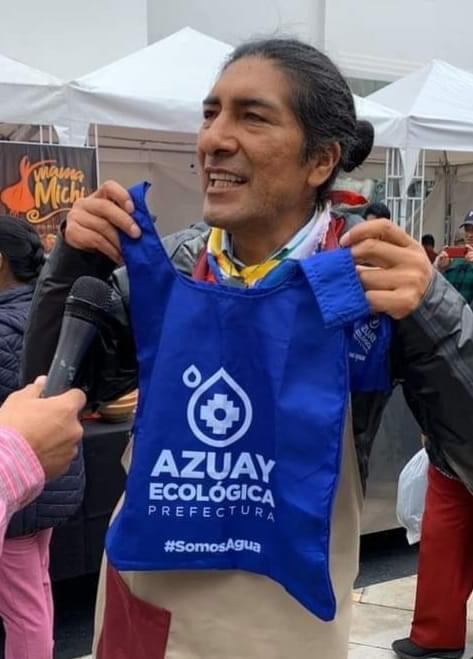 Yaku Pérez leader di Pachakutik