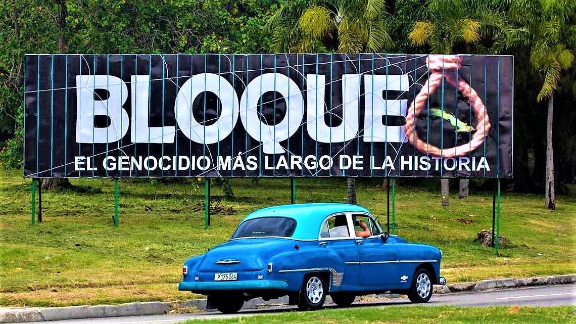 Stop al blocco contro Cuba