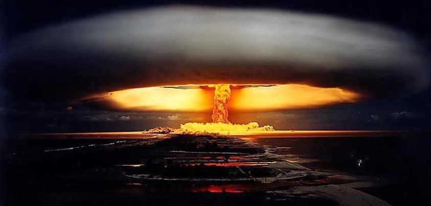 Un'esplosione nucleare