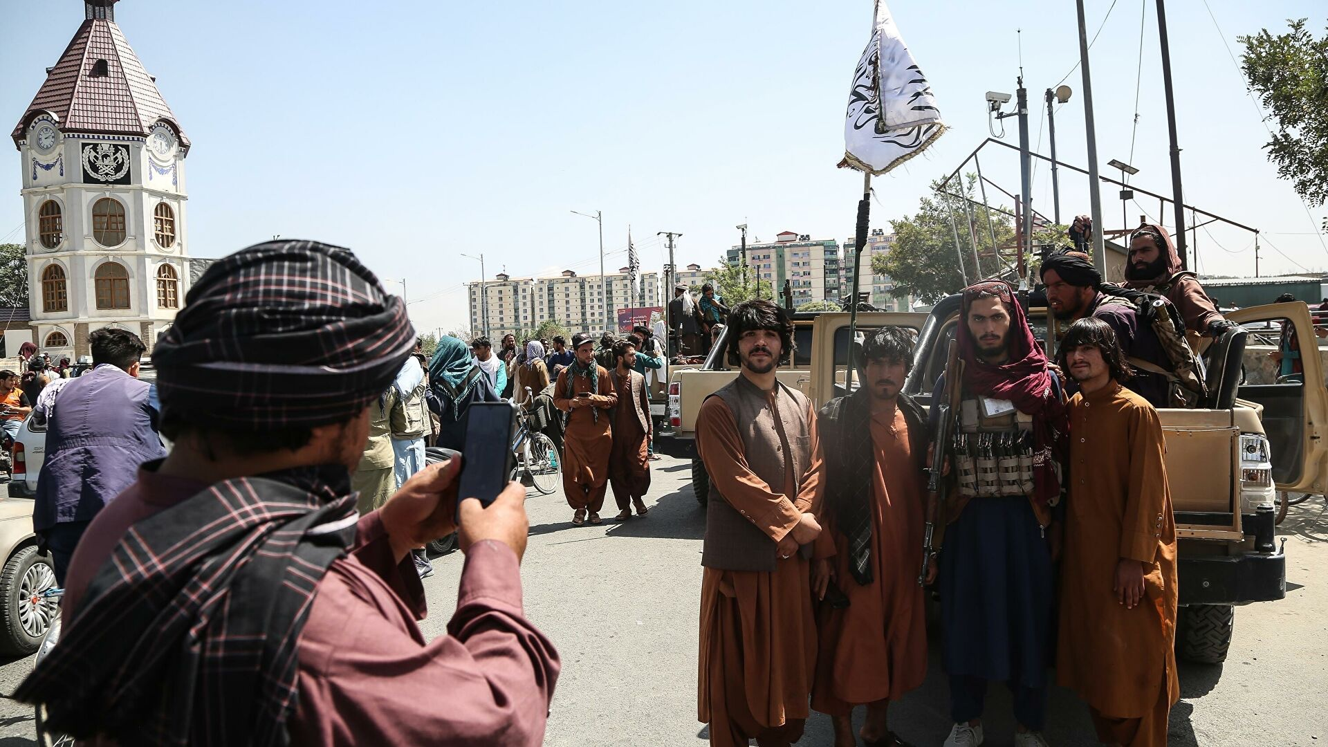 I talebani in Afganistan